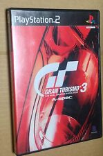 Gran Turismo 3 A-Spec Japan Japanese PlayStation 2 PS2 NTSC-J USED