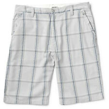 Burton Base Camp Shorts (34) Pewter Plaid