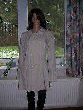 Ralph Lauren, leichte Jacke, Trenchcoat, beige, hell, mit Gürtel, Größe L, neu!