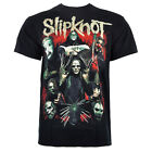 Official Slipknot Unisex Black Come Play Dying T Shirt - Band Merchandise