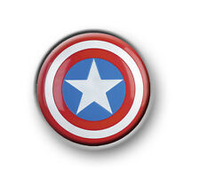 "CAPTAIN AMERICA 1"" / 25mm / pin button / badge / film movie / Marvel / Avengers"