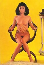 Ak Pin up girl Akt nude nus Busen busty erotic girl femme Erotik topless