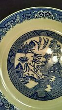 """Willow Ware By Royal China BLUE WILLOW 12"""" Serving Platter, White w/ Blue Design"""