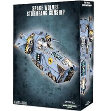 NEW In-Box-STORMWOLF-STORMFANG GUNSHIP Space Wolves Games Workshop Warhammer 40K
