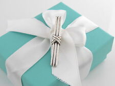 Tiffany & Co Silver Signature Tie Money Clip Box Included