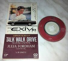 "CD JULIA FORDHAM - TALK WALK DRIVE - VJPR-14 - JAPAN 3"" INCH - PROMO - SINGLE"