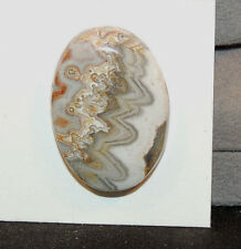 Crazy Lace Agate 30x22 with 6mm dome (11082)