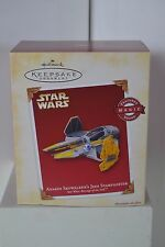 Hallmark Star Wars Anakin Skywalker's Jedi Starfighter (Magic sound) NIB
