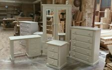 HANDMADE BERKSHIRE (IVORY) 4 PIECE BEDROOM SET NOT FLAT-PACK!!!