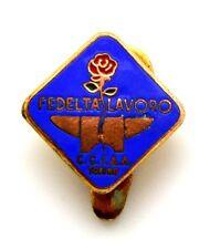Distintivo Camera Di Commercio C.C.I.A.A. Torino Fedeltà - Lavoro (Tacconet T