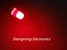 1000pcs 5mm Red Super Bright Diffused LED Light Lamps fog
