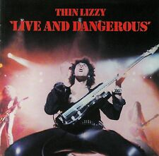 THIN LIZZY : LIVE AND DANGEROUS / CD (MERCURY 532 297-2) - DIGITALLY REMASTERED