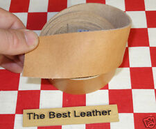 "AUTHENTIC HORWEEN NATURAL ESSEX LEATHER 4 oz. 45""x26mm BELT & STRAP 1st QLTY"