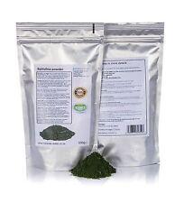 500g Spirulina Polvo 100% GMO Gratis/detox/muere/pérdida de peso/limpieza/