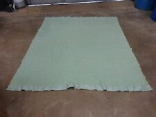 VTG ORR WESTERN BLANKET 68X81 HUNTING CAMPING 70S GREEN HIKING SPORT USA WOOL