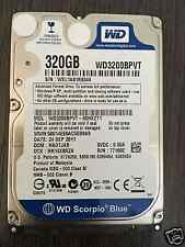 "2.5"" SATA 320GB WD (WD3200BPVT) Hard Disk Drive For Dell HP ASUS Acer laptop PS3"