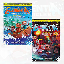 The Elementia Chronicles Series, 2 Books Collection Set (New Order & Quest) New