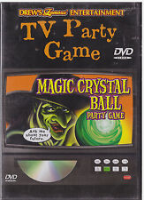 MAGIC CRYSTAL BALL PARTY GAME (DVD, 2006) NEW