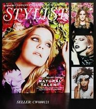 ROMOLA GARAI LADY GAGA MACY GRAY SAM TAYLOR-JOHNSON STYLIST MAGAZINE OCT 2012