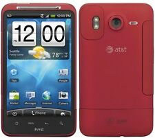 "Red AT&T HTC Inspire 4G 4.3"" Touch Screen SmartPhone GPS 8MP 720P HD Video WiFi"