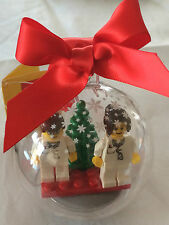 *BRAND NEW* Lego Minifig MALE & FEMALE DOCTORS Hanging CHRISTMAS ORNAMENT