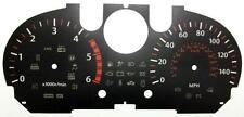 Lockwood BLACK Dial Conversion Kit for Nissan Qashquai Diesel 150MPH C310