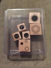 Stampin Up Wood Mount Rubber Stamps Seeing Spots Card Making Scrapbooking Kit