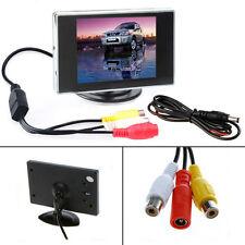 3.5'' TFT LCD Moniteur Ecran Recul Pr Caméra Voiture Automobile Véhicule DVD VCR