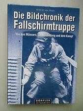 2 BÜcher Deutsche Fallschirmjäger Zweiten Weltkrieg Bildchronik Fallschirmtruppe