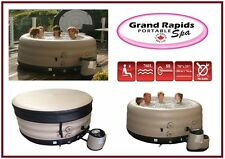 Grand Rapids Hot Tub *** Extra Deep *** 4 Person Inflatable Portable Spa