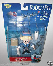 Rudolph And The Island of Misfit Toys - Hermey Action Figure 2000 Memory Lane