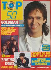 TOP 50 039 (1/12/86) JEAN-JACQUES GOLDMAN EUROPE LAHAYE