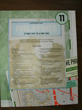 IMAGES OF WAR WWII CAMPAIGN MAP PHILIPPINES NOV 1941 - MAY 1942