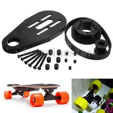 DIY Electric Skateboard Kit Parts Pulleys + Motor Mount +Belt For 72/70MM Wheels