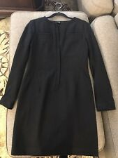 Uniqlo +J women wool black dress Size S