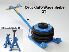 Druckluft-Wagenheber 2T + 2 x Unterstellbock