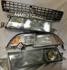 JDM TOYOTA CRESSIDA MARK 2 KOUKI CONVERSION - FRONT LIGHTS & GRILLE WITH EMBLEMS