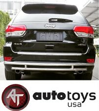 ATU Stainless Steel Rear Bumper Guard Double Layer for 2007-2013 Acura MDX