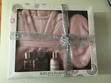 BAYLIS and HARDING Skin Spa Set with Robe Slippers and products