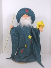 """Annalee 18"""" Spellbinder Wizard Original Tags Made in New Hampshire"""