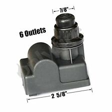 "Onlyfire 14461 Universal Electric 6 Outlet ""AA"" Battery Push Button Igniter BBQ"