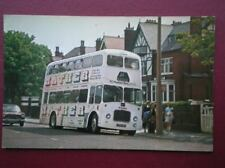 POSTCARD RIBBLE BUS NO 1821 - 1963 LEYLAND PD3/5