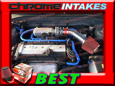 K&N+RED NEW AIR INTAKE KIT FOR 01 02 03 04 05/2001-2005 HYUNDAI ACCENT WITH 1.6L