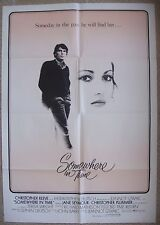 """Lebanese Theatrical 1sht Movie Poster SOMEWHERE IN TIME 27.7""""x39.3"""" Film 1980."""