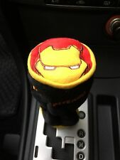 Iron Man Car Accessory : Manual or Round-Head Shift Knob Gear Stick Cover