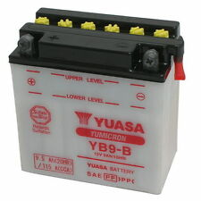 Batteria ORIGINALE Yuasa YB9-B + Acido Malaguti F18 Warrior 150 2000/2002