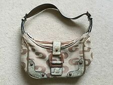 Ladies GUESS Gorgeous Bronze/Beige Evening Occasion Mini Handbag Hardly Used