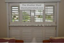 Pre-finished Solid Wood Shutter ,Custom, Window, Operating, Plantation Style