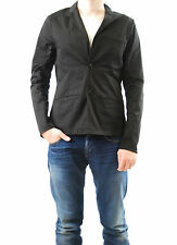 Denham Men's Artis Long Sleeve Blazer V Neck Black Size XL RRP 176£ BCF512