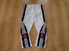 Adidas Rare Vintage Retro Old Poppers Bottoms Pants Trousers Tracksuit Jogging
